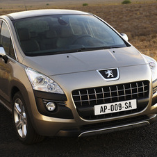 Peugeot 3008 HDi FAP Active Automatic