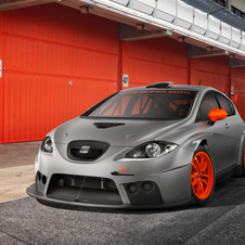 The Leon Cupra R is meant as a customer race car