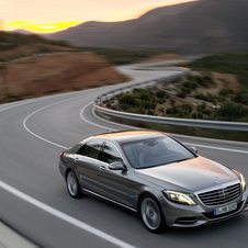 The S-Class will get a third wheelbase length next year
