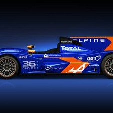 The car is the same Oreca 03-Nissan as before but with new paint.