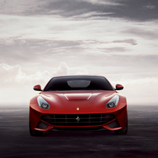 With the new V12 model Ferrari has developed a very compact car with a lower centre of gravity that is further back in the chassis.