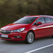 Opel Astra Sports Tourer 1.0 Turbo Dynamic