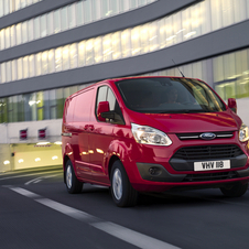Ford Transit Custom Van 270S Trend 2.2TDCi Curta - Teto normal