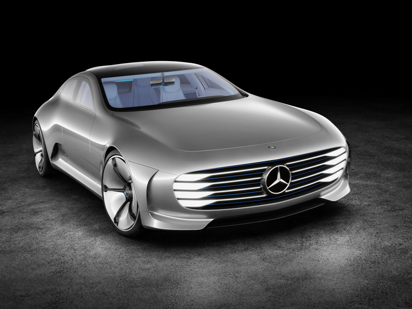 Mercedes bet on a concept with futuristic lines as a surprise at this year's Frankfurt Motor Show
