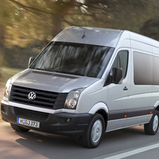 Volkswagen Crafter 35 2.5 TDI 109cv Chassis Cabine Dupla Médi