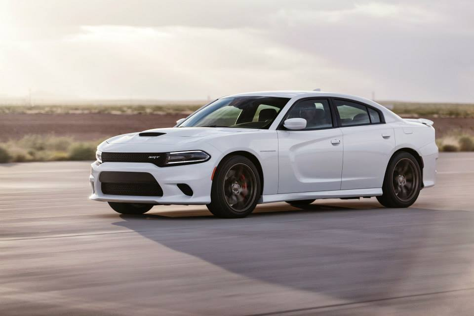 The new Charger SRT Hellcat is equipped with the new supercharged 6.2-liter HEMI V8