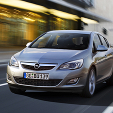 Opel Astra 1.6 Turbo Cosmo 10