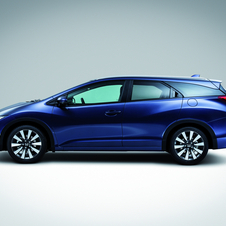 O Civic Tourer estará à venda no primeiro trimestre de 2014