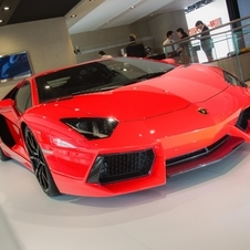 The Aventador gets a sharper suspension and new wheels in addition to improved fuel economy