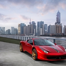 Ferrari 458 20th Anniversary Edition in Beijing