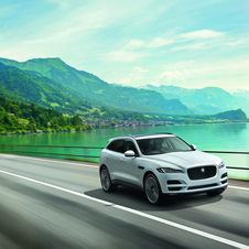 F-Pace's range available at launch will include a petrol engine and two diesel, with rear and all wheel drive options