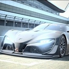 The FT-1 Vision Gran Turismo includes new details compared to the real concept shown in January at the Detroit Motor Show