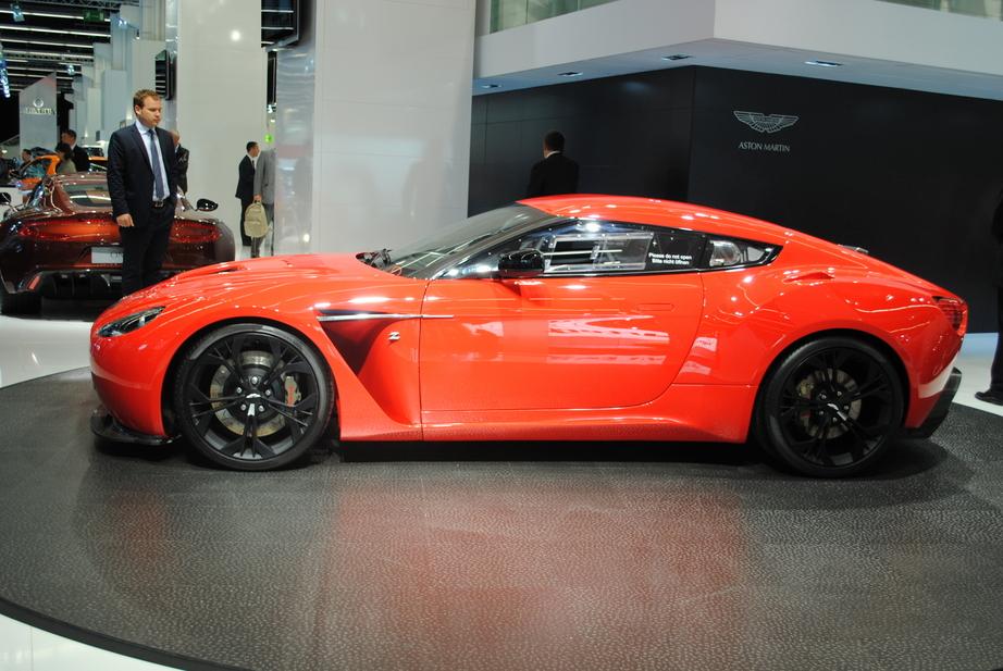 Aston Martin V Zagato Bringing Its Power To Frankfurt Updated - Aston martin zagato price