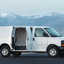 Chevrolet Express 3500 LT Regular Wheelbase Diesel
