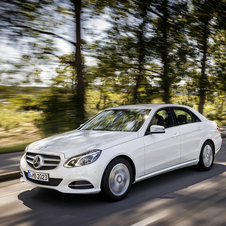 The E200 Natural Gas will be on sale in December