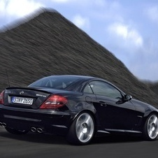 Mercedes-Benz SLK 55 AMG Black Series