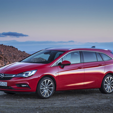 Opel Astra Sports Tourer 1.6 CDTI Innovation
