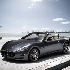 World introduction of Maserati's new GranCabrio model
