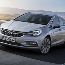 Opel Astra Sports Tourer 1.6 CDTI Dynamic