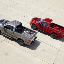 The truck will be available in two-wheel or four-wheel drive