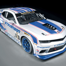 The Camaro Z/28.R replaces the previous Camaro GS.R racecar