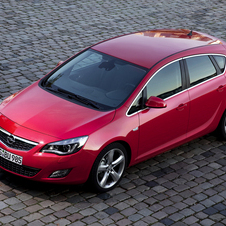 Opel Astra 1.6 Turbo Cosmo Active Select 10