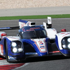 Toyota originally intended the 2013 TS030 to be ready for the previous race at Silverstone