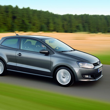 Volkswagen Polo 1.6l TDI Highline 90 hp DSG 7v