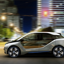 BMW will offer its i3 with an optional range-extending engine
