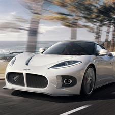 Spyker will have the B6 sports car on sale in the early portion of 2014