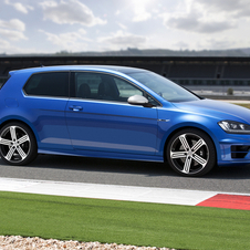 The Golf R represents the top of the range