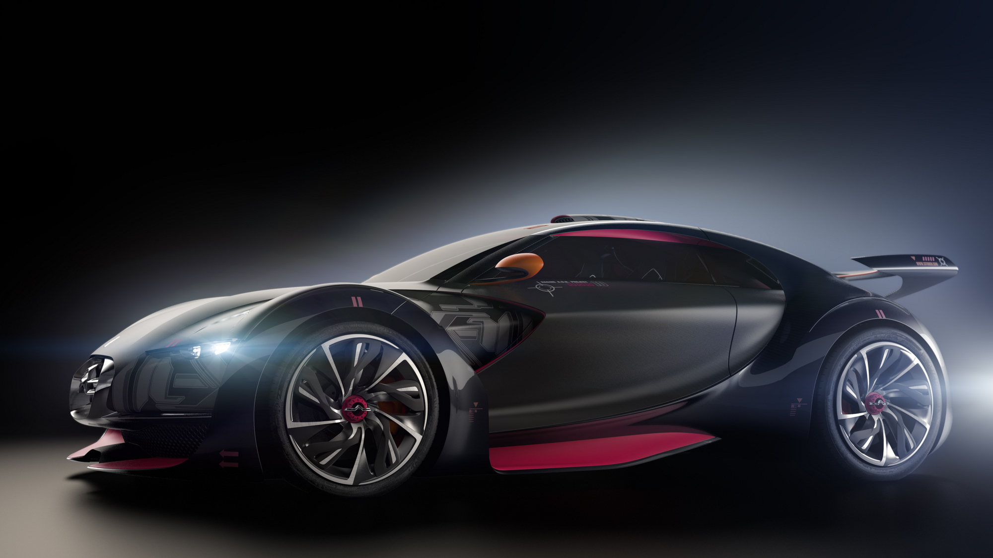 Citroen Survolt Sports Car Electric Concept Slideshow Autoviva Com