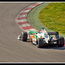 Force India VJM02 Mercedes