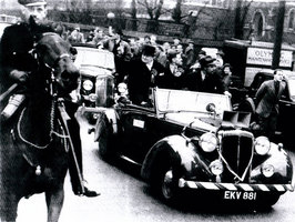 Churchill used the car when he was running for election