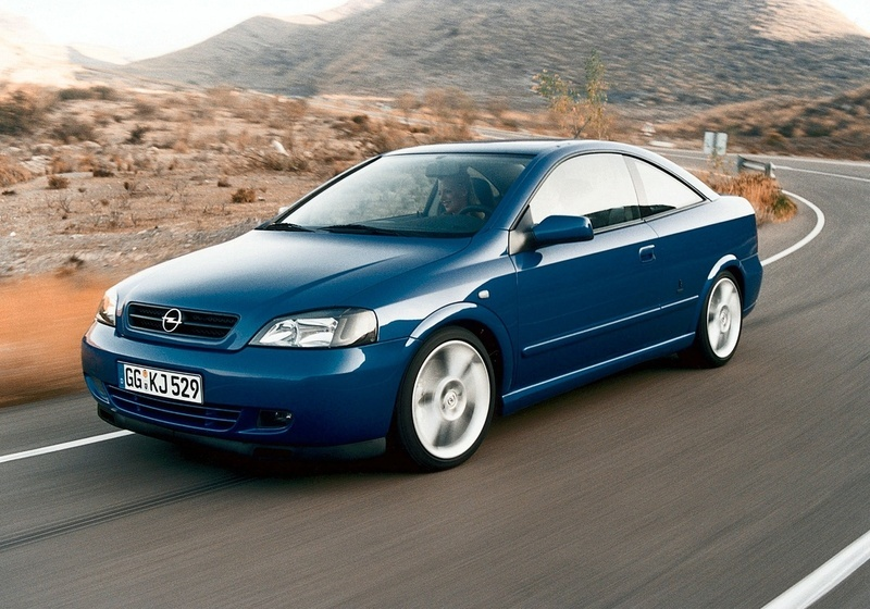 opel astra coupe 2.2 16v automatic :: 1 photo and 47 specs