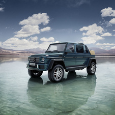Mercedes-Benz Maybach G650 Laundalet