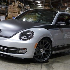 The Beetle can be made to look modern or classic
