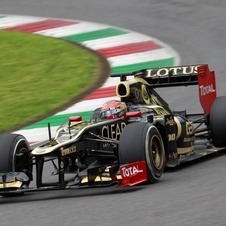 Grosjean was fastest in two out of three days of practice