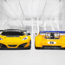 McLaren will race its 12C Can-Am and classic Can-Am cars up the hill at Goodwood