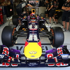 It certainly appears that Red Bull has a good chance to win in Italy