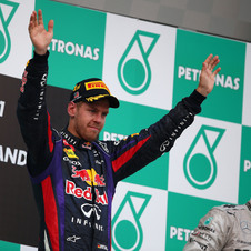 Vettel won in Malaysia but may have taken a public relations hit for how he did it