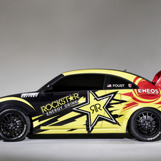 Weltpremiere des Rallycross-Beetle in Chicago