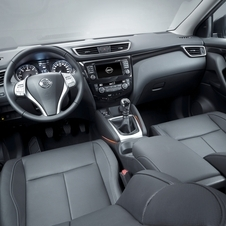 The interior gets a new 7in infotainment system