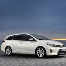 The Auris Touring Sports is a five-door hybrid MPV meant for hauling.