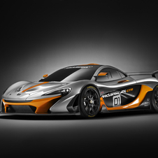 McLaren P1 GTR will start being produced after all the standard P1s have been built
