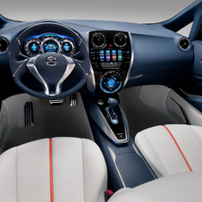 The Nissan Invitation interior is meant to be airy and modern