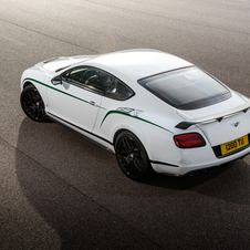The new Continental GT3-R can accelerate to 100km/h in 3.8 seconds and reach a top speed of 273km/h