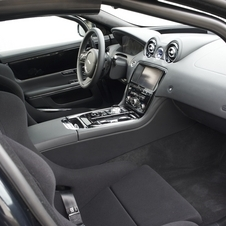 Jaguar stripped the interior and add racing seats