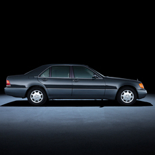 Mercedes-Benz S-Class 140 series (1991 to 1998)