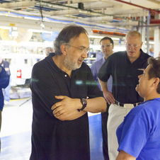 Marchionne clearly wants to own the entire company
